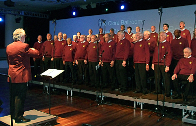 Performing in the Spring Choral Festival 2010 at the Royal Festival Hall